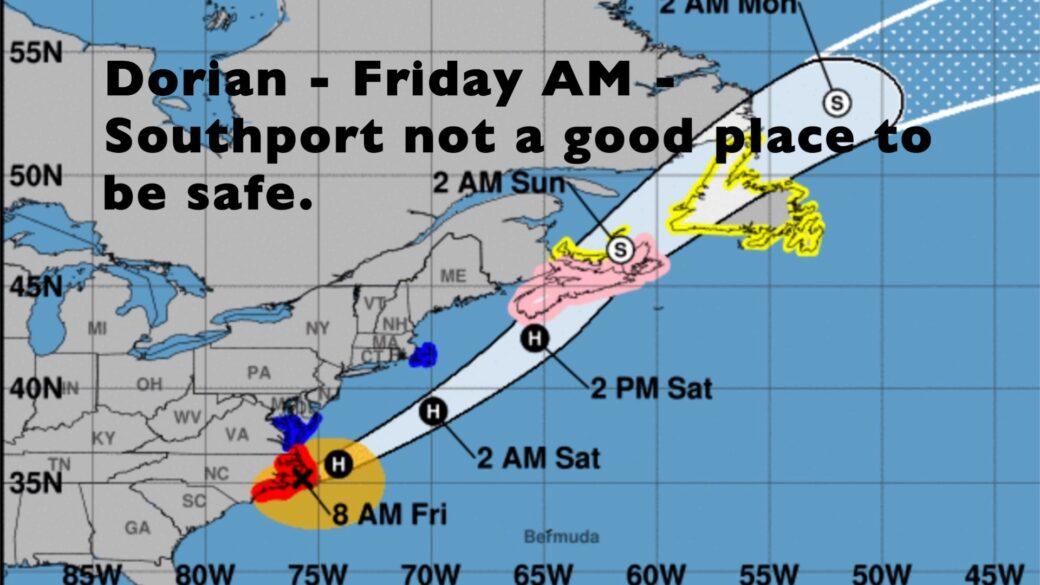 Escaping Hurricane Dorian