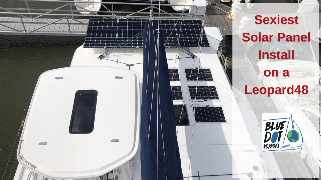Solar Panel Installation on Leopard48 | EP52