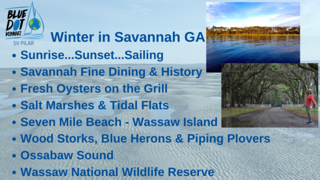 Winter 2020 Sailing in Savannah Georgia